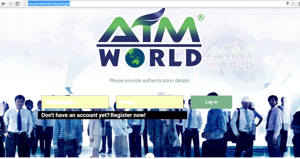 my.aimworld log in