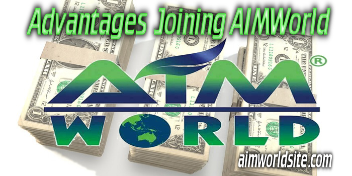 Advantages Joining AIMWorld
