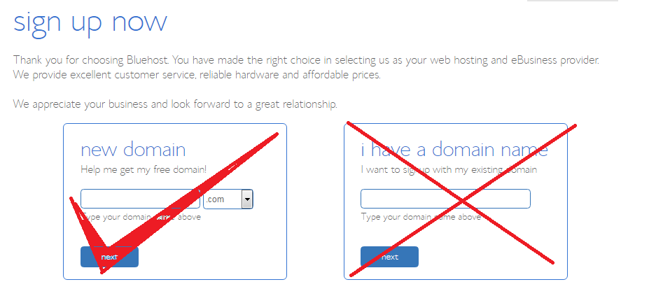Create a website step by step guide free domain name
