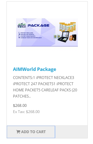 Step How to join Aim World 1