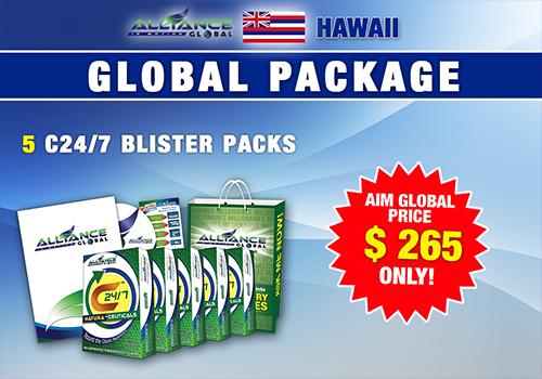 AIM GLOBAL hawaii package