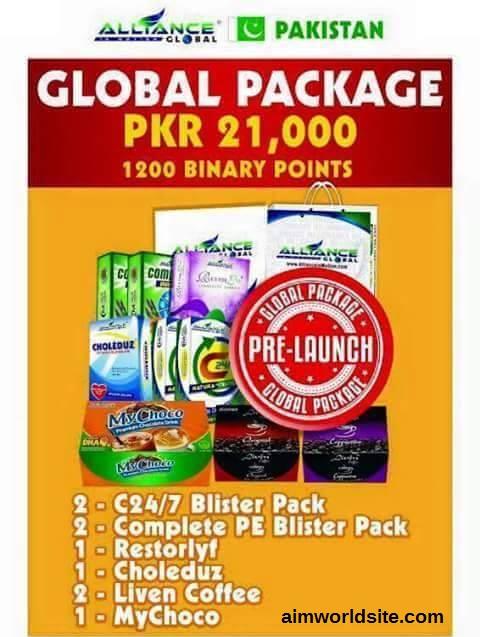 AIm global Pakistan Global Package