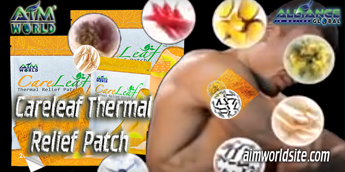 Careleaf Thermal Relief Patch