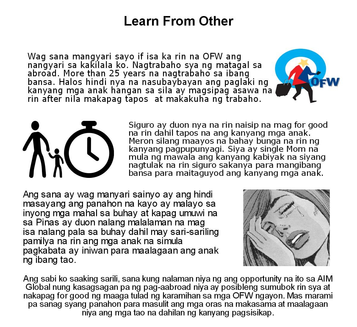 OFW Go Home For Good