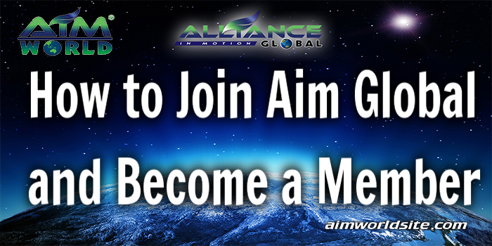 How to Join Aim Global and Become a Member