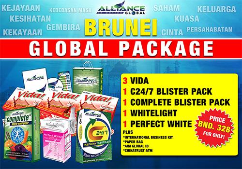 aim global brunei package
