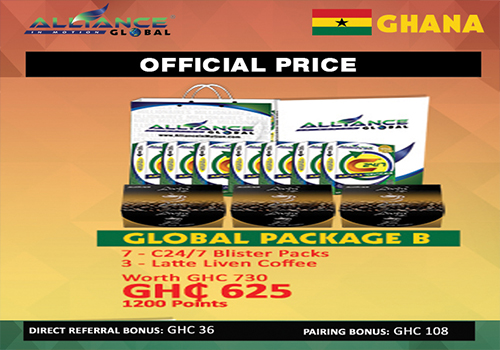 aim global ghana package