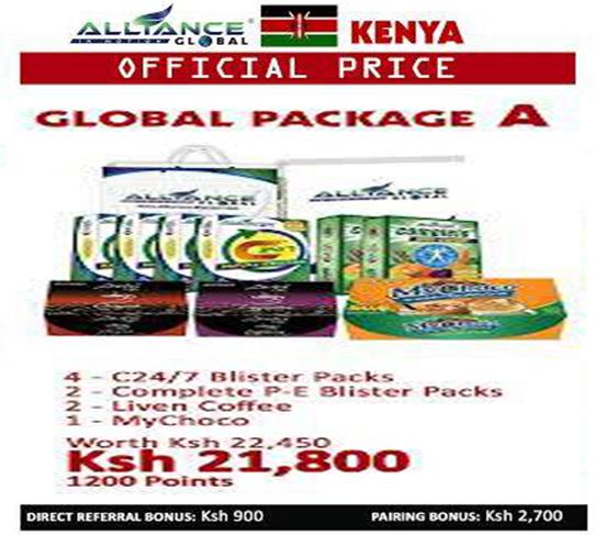 aim global kenya package