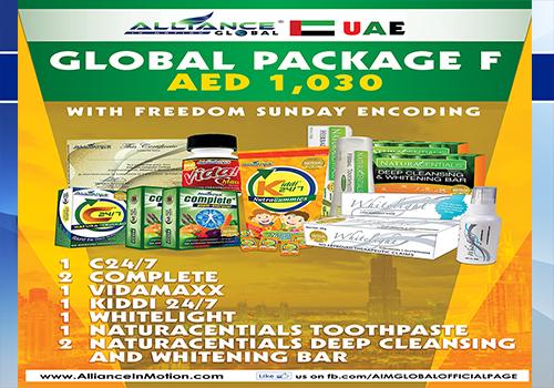 aim global uae package