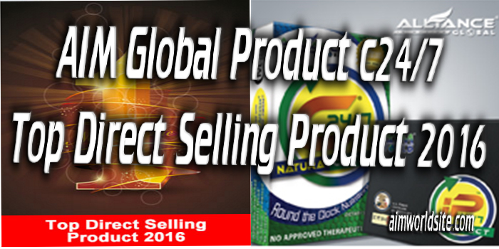 AIM Global Product c24/7 - Top Direct Selling Product 2016