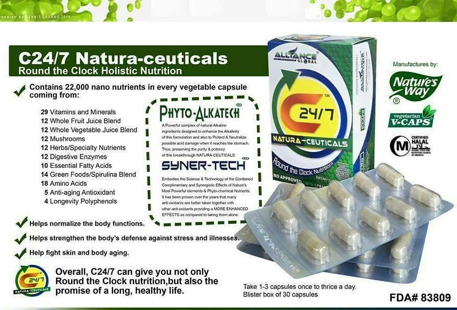 c24/7 natura ceuticals