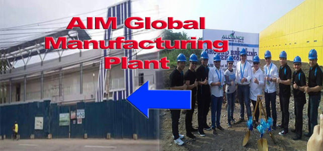 AIM Global Manufacturing Plant in the Philippines