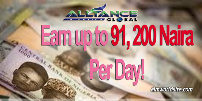 Earn Up to 91,200 Naira Per Day