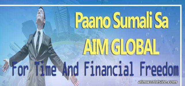Paano Sumali sa AIM Global At Magkaroon ng Financial Freedom