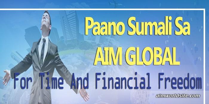paano sumali sa AIM global