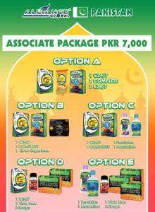 aim global pakistan associate package