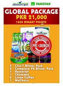 Aim Global pakistan Package