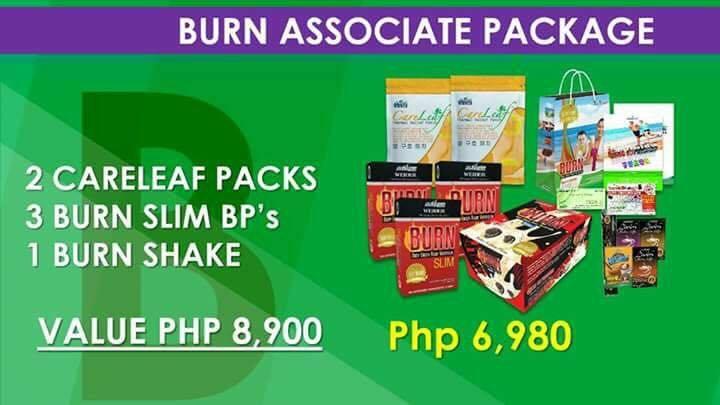 Burn associate pack