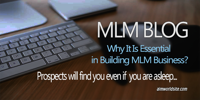MLM Blog Importance