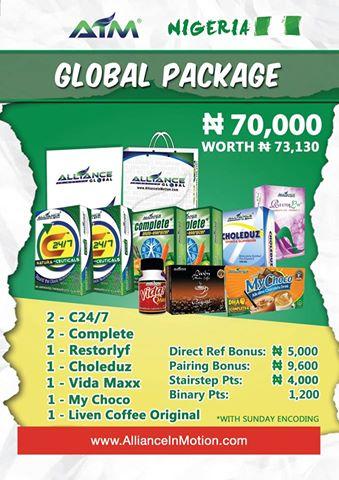 aim global nigeria package