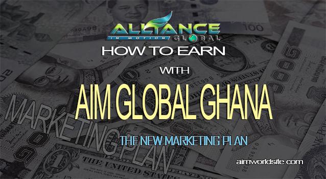 how to earn with aim global ghana