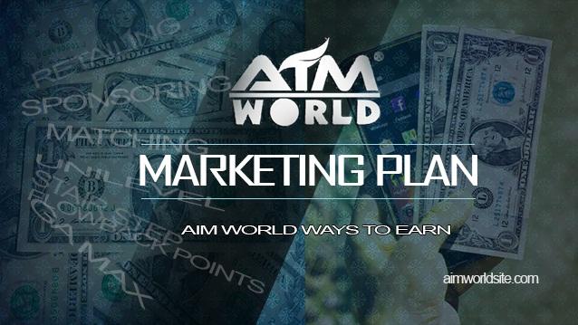 AIM WORLD MARKETING PLAN UPGRADED