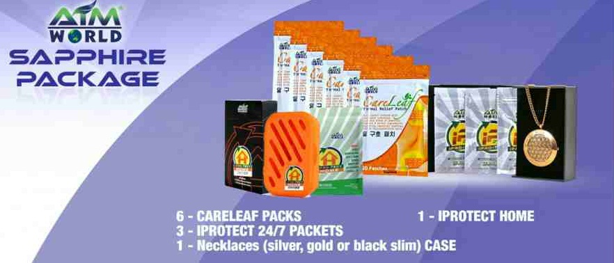 aim world sapphire pack