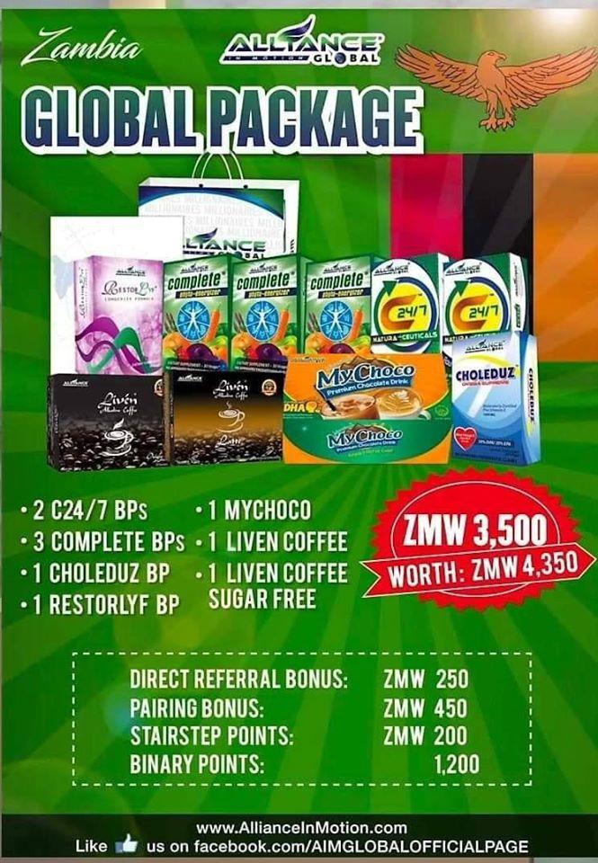aim global zambia package
