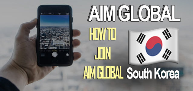 AIM Global South Korea: How to join AIM Opportunity From Korea