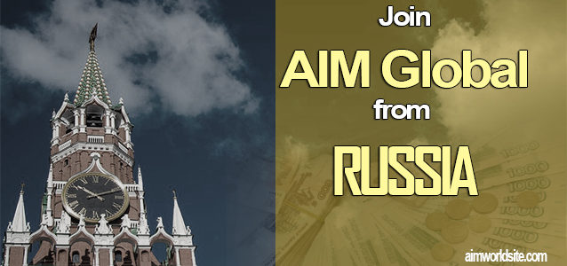 AIM Global Russia: How to Join AIM Global From Russia