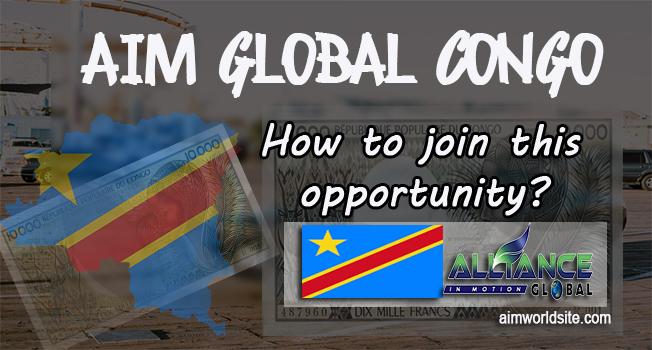 Join AIM Global Congo