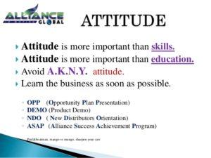 aim ndo attitude