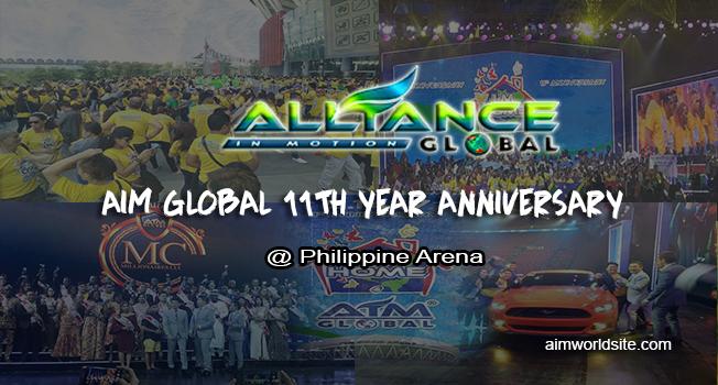 AIM Global 11th Year Anniversary Celebration