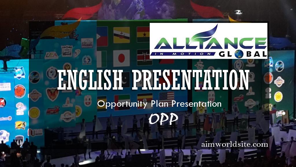 AIM GLOBAL ENGLISH PRESENTATION