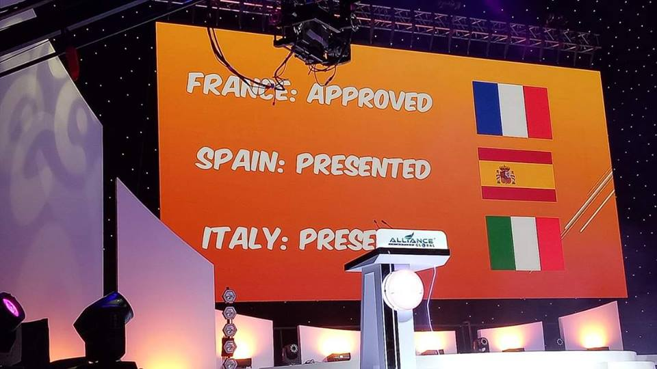 AIM Global France Opening