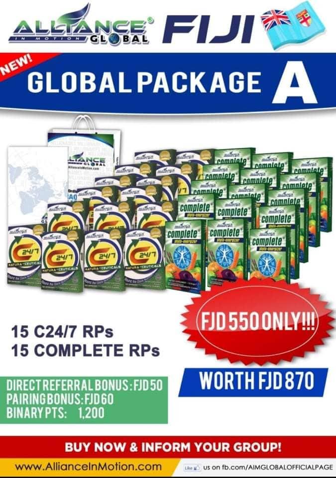 AIM Global fiji package a